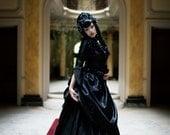 Mina Dracula Gothic Victorian Bustle Gown Wedding Custom Gown