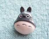 SUPER CUTE PROMO : Totoro Brooch