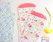 Mini Gift Bag Set Posies | Gift Wrap | Stickers | Labels