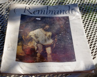 Rembrandt  Abrams Art Print Book