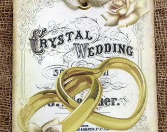 Victorian Wedding Rings Tags #231
