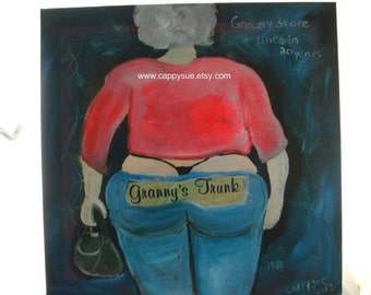 Junk in the trunk painting