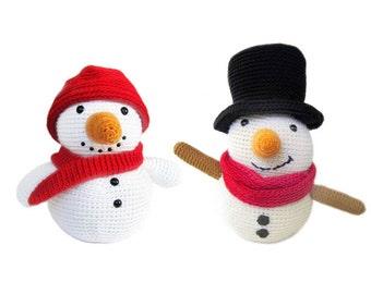 Amigurumi PATTERN: Snowman -pdf-
