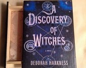 A Discovery of Witches Book Jewelry Box - Deborah Harkness - A Discovery of Witches Jewelry Box - Wooden Box with Drawer - Witch Jewelry Box