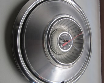 1976 Dodge Charger Hubcap Clock no. 2042