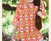 Tea Blossom Tunic, Paper Pattern by Monaluna