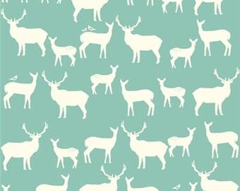 Birch Organic Fabric, Elk, Pool, half-yard