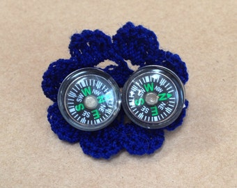 Working Compass Earrings