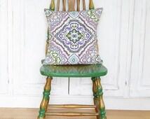 Cross stitch pattern BAZAAR - morrocan,boho,handmade,needlepoint,paisley,embroidery pattern,pillow,cross stitch pillow,diy,Anette Eriksson
