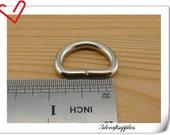 3/4  inch (inner diameter) D-rings Purse Hooks high quality 14  Pcs per bag D71