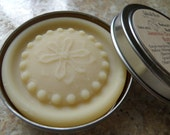 Solid Lotion - Jasmine Grandiflorum  -  Lotion Butter Bar - All Natural with Organic Ingredients in Travel Tin