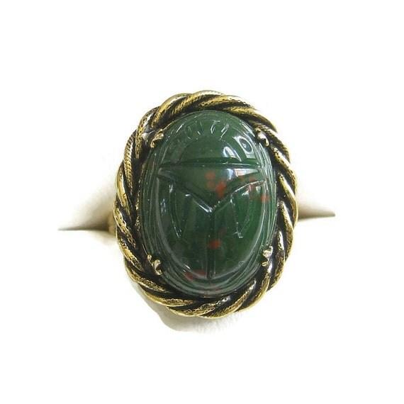 Bloodstone Ring Size