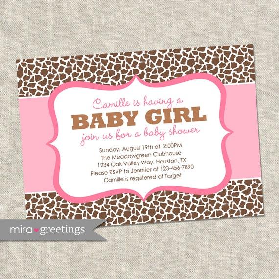 E Invite Baby Shower with adorable invitations sample