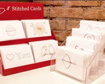 Buy 10 for 45 + free shipping - Stitched Cards