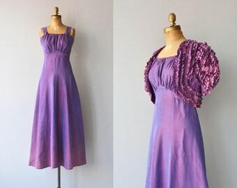 Fabry–Pérot dress | vintage 1930s dress • 30s dress and jacket