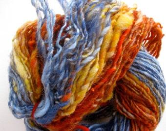 handspun yarn, Valley of Fire