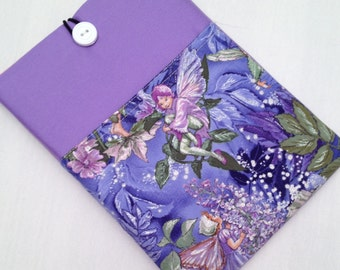 iPad mini padded sleeve / iPad mini with retina /  made in Maine / sparkly fairies