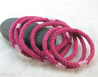 red string bracelets rope jewelry soft bangles string bracelets small bangles 3291
