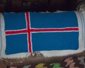 Icelandic Flag Kitchen Towel