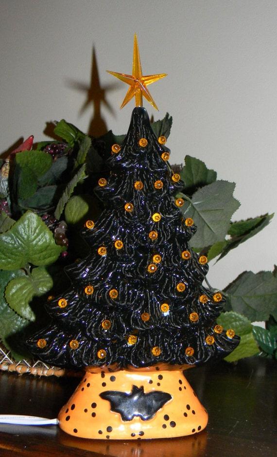 Miniature Lighted Christmas Trees