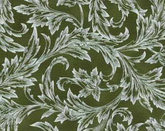 Hoffman Challenge Coordinate Fabric moss pearl