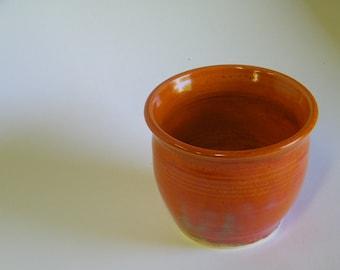 Burnt Orange Pot