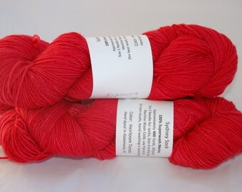 Studio June Yarn, Sydney Sock, Superwash Merino, Color - Heirloom Tomato