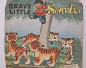 1940's Brave Little Sambo 45 record by Peter Pan Records