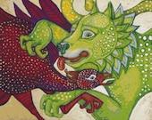 Lion Cross Stitch Kit, Lynnette Shelley Battle Royale Needlecraft, Art Nouveau, Counted Cross Stitch, Full stitches, Modern Art, Mythical