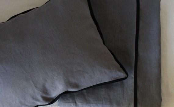 CHIC..DUVET COVER..100% linen