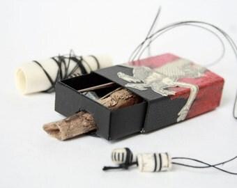 Nachtmahr Box 3/12, limited edition handmade artist book