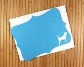 Custom Dog Note cards Set of 8
