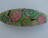 Polymer Clay Barrette or Scarf Clip