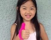 Thumb-sucking Thumb guard Thumb Sucking Helper Neon Pink