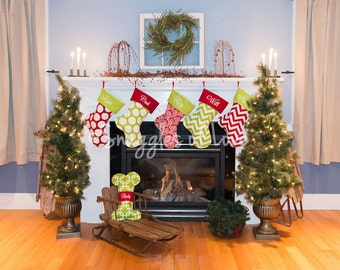 monogrammed christmas stockings set of 3 stockings monogrammed stockings embroidered stockings design