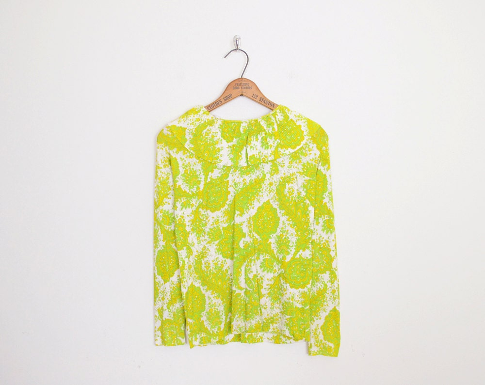 Yellow Green Blouse 49