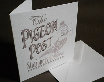 The Pigeon Post Stationery Co. Card