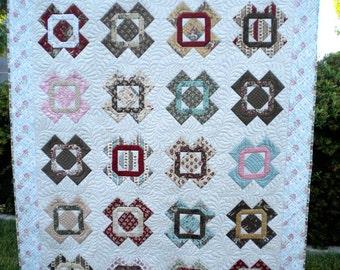 Vintage Quilt Paper Pattern