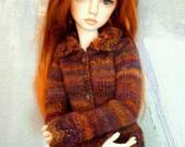 1/3 SD BJD girl cardigan Tsarina
