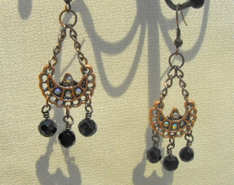 Charming Copper dangly earrings