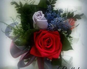 Happy Birthday Tussie Mussie Dried Flower Bouquet