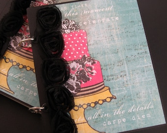 Happy Birthday to You Premade Scrapbook Album with Pocket Pages