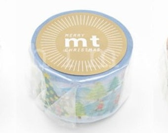 mt 2013 christmas masking tapes - special edition - single - 30mm x 10m x 1pc