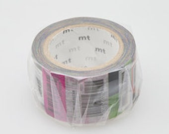 mt limited edition washi masking tape - bar code