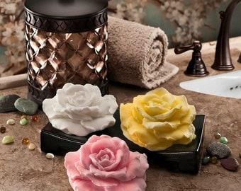 Rose Petals Glycerin Soap