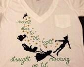 Peter Pan glitter shirt