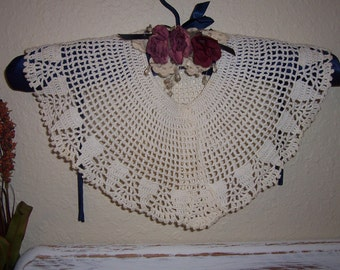 Lot of 3 Crochet Lace Collars