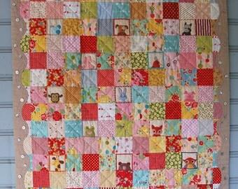 Sleepytime Baby Quilt Pattern