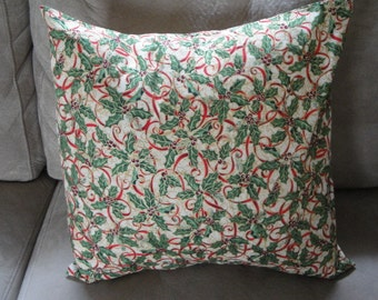 Holly 16 x 16 Pillow Cover