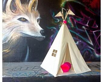 Kids teepee tent - plain MIDI size - NEW
